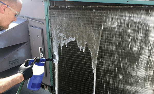 coil cleaning AC coils condenser coils